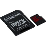 Kingston microSDHC Class 10 UHS-3 mit Adapter, 16GB