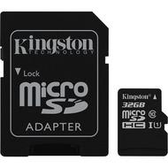 Kingston microSDHC Class 10 UHS-I Card + SD Adapter, 32GB