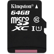 Kingston microSDXC Class 10  UHS-I, 64GB ohne Adapter