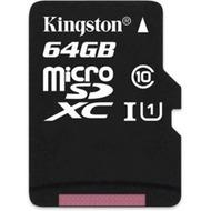 Kingston microSDXC Class 10  UHS-I, 64GB ohne Adapter