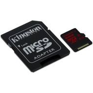 Kingston microSDXC Class 10 UHS-3 mit Adapter, 64GB
