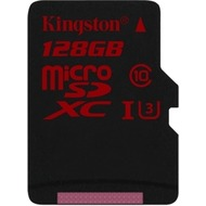 Kingston microSDXC Speicherkarte, UHS-3, Class10, 128GB