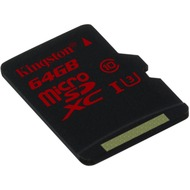 Kingston microSDXC Class 10 UHS-3 ohne Adapter, 64GB