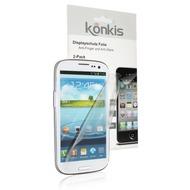 Konkis Antifinger Displayschutzfolie, Samsung N7100 Galaxy Note 2