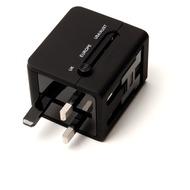 Konkis Welt Adapter Universal Reiseadaptor, Dual Doppel 2x USB