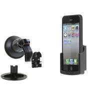 Kram Telecom FIX2CAR Passivhalter mit Saugfuß für Apple iPhone 5/ 5S/ SE