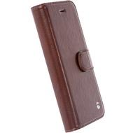 Krusell FolioWallet Ekerö 2 in 1 für iPhone 7, Coffee