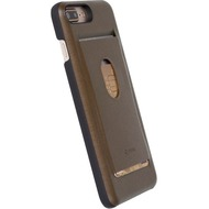 Krusell WalletCover Timrå für Apple iPhone 7 Plus, Braun