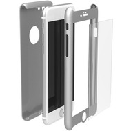 Krusell Arvika 360 Cover für Apple iPhone 7 Plus, Silber