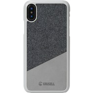 Krusell Tanum Cover, Apple iPhone XS, grau/ grau