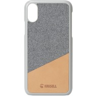 Krusell Tanum Cover, Apple iPhone XR, nude/ grau
