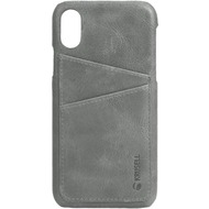 Krusell Sunne 2 Card Cover, Apple iPhone XR, grau