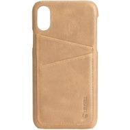 Krusell Sunne 2 Card Cover, Apple iPhone XR, nude