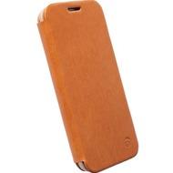 Krusell Kiruna Flip Case für Samsung Galaxy S6, camel
