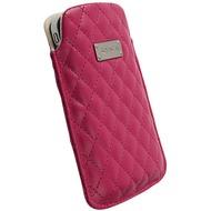 Krusell Avenyn Mobile Pouch L, kirschrot-rosa
