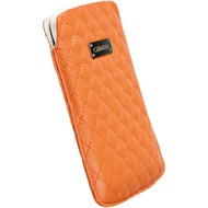 Krusell Avenyn Mobile Pouch L Long, orange