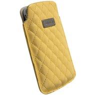 Krusell Avenyn Mobile Pouch L Long, gelb