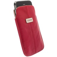 Krusell Luna Mobile Pouch L Long, rot