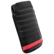 Krusell Idre Mobile Pouch L Long, schwarz-rot