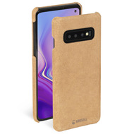 Krusell Broby Cover for Galaxy S10 cognac