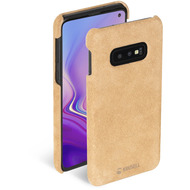 Krusell Broby Cover for Galaxy S10e cognac