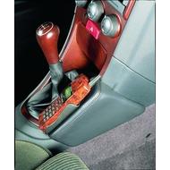 Kuda Lederkonsole ALFA ROMEO 156 ab 10/ 97 (ohne Selespeed) /  Space Wagon Echtleder anthrazit (Farbe 0207)