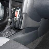 Kuda Lederkonsole für Peugeot 207 & 207 CC ab 05/ 06 Mobilia /  Kunstleder schwarz