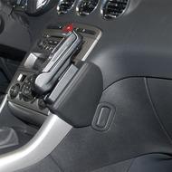 Kuda Lederkonsole für Peugeot 308 ab 09/ 2007 Mobilia /  Kunstleder schwarz