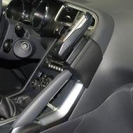 Kuda Lederkonsole für Peugeot 3008 (07.2009-) Echtleder schwarz