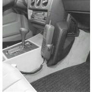 Kuda Lederkonsole DAIMLER BENZ 190er /  W201 83-93 für geteilte Mittelkonsole Echtleder schwarz
