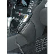 Kuda Lederkonsole für Mercedes-Benz SLK /  R171 ab 03/ 04 Kunstleder schwarz