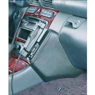 Kuda Lederkonsole DAIMLER BENZ C-Klasse /  W203 ab 5/ 00 Sportcoupe +T-Mod. ab 03/ 01 Kunstleder schwarz