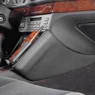 Kuda Lederkonsole BMW 5er /  E39 ab 96 Echtleder schwarz