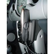 Kuda Lederkonsole für MINI ab Baujahr 09/ 2001 (mit Handschuhfach) Kunstleder schwarz