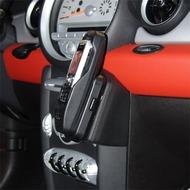 Kuda Lederkonsole für BMW Mini 2006/  Mini Cabrio 2009 (o.Navi) Echtleder schwarz