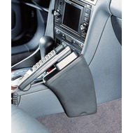 Kuda Lederkonsole AUDI A6 /  S6 ab 5/ 97 (Allroad Quattro) Kunstleder schwarz