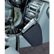 Kuda Lederkonsole AUDI A4 (B5)/ RS 4 ab 2/ 99 langer Ascher neue Form Kunstleder schwarz