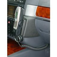 Kuda Lederkonsole für VW Touareg ab 11/ 02 Kunstleder schwarz