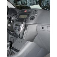 Kuda Lederkonsole für VW Golf Plus Echtleder schwarz
