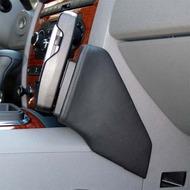 Kuda Lederkonsole für Jeep Grand Cherokee ab 2005 (USA) Kunstleder schwarz