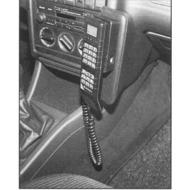 Kuda Lederkonsole AUDI 80/ 90 ohne Beifahrerairbag 86-96 Echtleder platingrau (Farbe 0198)