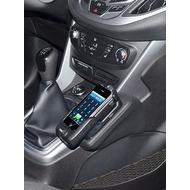 Kuda Lederkonsole für Ford B-Max 03/ 2012-& Transit Courier 14- Echtleder schwarz