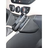 Kuda Lederkonsole für Hyundai i10 ab 11/ 2013 Kunstleder schwarz