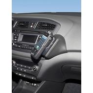 Kuda Lederkonsole für Hyundai i20 ab 2014 Kunstleder schwarz
