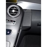 Kuda Lederkonsole für Mercedes C-Klasse ab 2014 (W205) Kunstleder schwarz