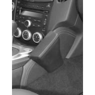 Kuda Lederkonsole für Nissan 370z ab 04/ 2009 Echtleder Schwarz