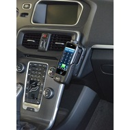 Kuda Lederkonsole für Volvo V40 ab 10/ 2012 & Volvo Cross Count Echtleder schwarz