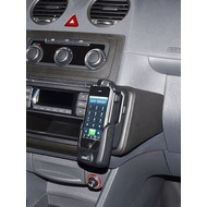 Kuda Lederkonsole für VW Caddy ab 09 (mit Handschuhfach ) Mobilia /  Kunstleder schwarz