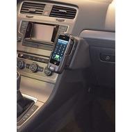 Kuda Lederkonsole für VW Golf 7 ab 11/ 2012 Echtleder schwarz
