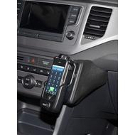 Kuda Lederkonsole für VW Golf Sportsvan ab 02/ 2014 Kunstleder schwarz